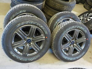4 Ford F150 Factory 20 Charcoal Wheels Goodyear Tires 2020 929d 09 20