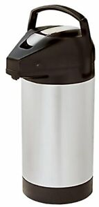 Fetco D041 3 Liter Lever Action Airpot Stainless Steel Liner