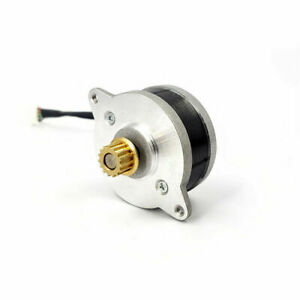 36byg12 0 9 Deg 36mm Micro Round Thin 2 phase 4 wire Stepper Motor Copper Pulley