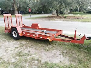 2018 Felling Equipment Trailer 13ft X 64 Inches 8 Lug Dexter Axel Electric Brake