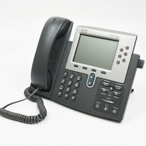 Cisco Cp 7961g Unified Ip Phone W Handset And Stand