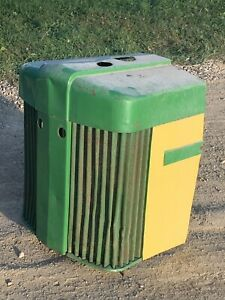 John Deere 70 720 Grill Grille Nose Cone Nosecone Solid Straight