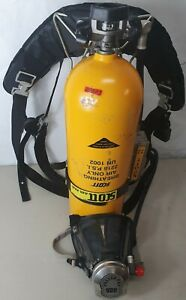 Scott 2216 Psi 30 Minute Breathing Scba Air Tank Cylinder For Air pak W Mask