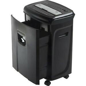 Industrial Paper Credit Card Shredder 12 sheet Crosscut Auto on Start Commercial