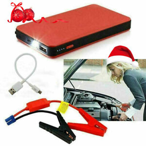 20000mah 12v Car Jump Starter Pack Booster Battery Charger Usb Power Bank Mini