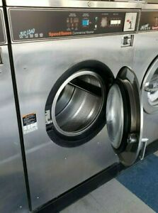 Speed Queen Front Load Washer Coin Op 50lb 1ph Serial 3110222391 refurb
