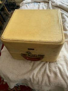 Vintage T Anthony New York Classic Car Picnic Basket Time Capsule