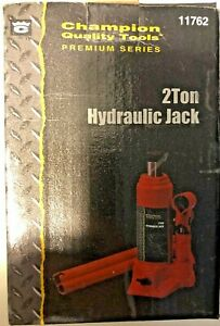 Champion 2 Ton Hydraulic Bottle Jack