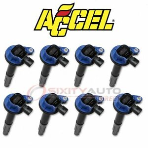 Accel Direct Ignition Coil For 2011 2013 Ford F 150 5 0l V8 Spark Wire Aw