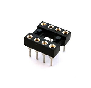 8 Pin Machined Dip Ic Sockets Open Frame Winchester 20 Pieces