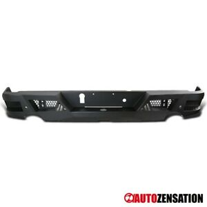 For 2009 2018 Dodge Ram 1500 Black Steel Pickup Truck Rear Bumper Guard 1pc