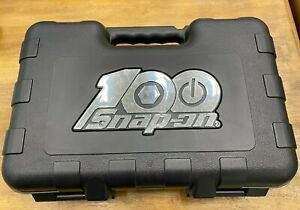 Snap on Tools Usa 100th Anniversary Tool Case With Foam Insert Case Only