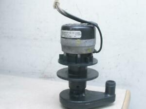 Manitowoc 2008923 Ice Machine Water Pump Model Msp2 115 60 1 Osp b6hubej1