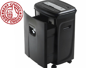 Industrial Heavy Duty Document Shredder Commercial Crosscut Paper Credit Card