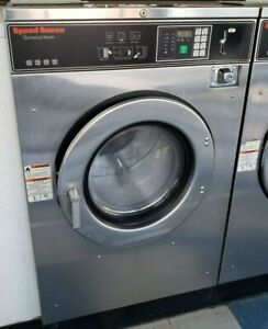 Speed Queen Front Load Coin Op Washer 40lb 208 240v S n 07099009802 refurb