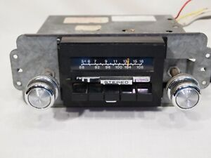 Ford 1970s 1980s Clarion Stereo Radio Re 406a Bronco F 150 Cougar T Bird W Knobs