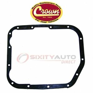 Crown Automotive Transmission Oil Pan Gasket For 1993 2004 Jeep Grand Ch