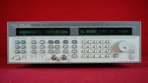 Hp agilent 83752a 1e1 1e4 3610a02206 Synthesized Sweeper 10 Mhz To 20 Ghz