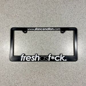 Stancenation Stance Nation Fresh As Illest Jdm License Plate Frame Holder