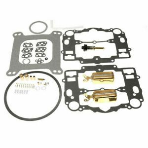 Edelbrock Afb Carb Rebuild Kit 1405 1406 1407 1408 1409 1410 1411 2 Brass Floats