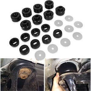 7 141 Body And Cab Mount Bushing Kit For 1999 2014 Chevy Silverado Sierra 2 4wd
