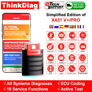 Thinkdiag X431 Easydiag Bidirectional Ecu Coding All System Diagnostic Scanner