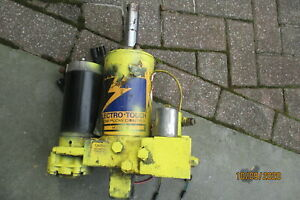 Meyer E47 Snow Plow Pump Hydraulic Lift Unit Tested Great Condition