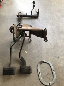 Mopar Plymouth Volare Dodge Aspen R T 4 Speed Clutch Pedals Manual Transmission