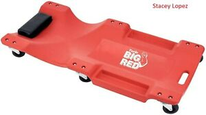 Big Red Trp6240 Torin Blow Molded Plastic Rolling Garage shop Creeper 40 Mecha