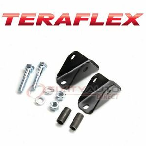 Teraflex Shock Absorber Relocation Bracket For 1997 2006 Jeep Wrangler Ka