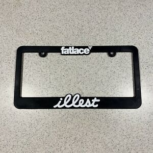 Illest Fatlace Jdm License Plate Frame Holder Lowered Stanced Slammed