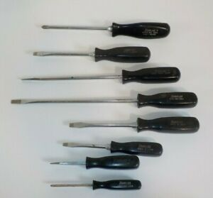 Snapon Snap On Vintage Ssd Stdp 8 Piece Screwdriver Set Made In Usa Pre owned