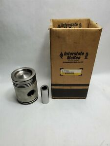 Genuine Interstate Mcbee Piston Kit Detroit 53 Series A5198877 2 53 3 53 4 53