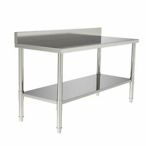 24 X 60 X 36 Kitchen Stainless Steel Heavy Duty Food Prep Work Table New