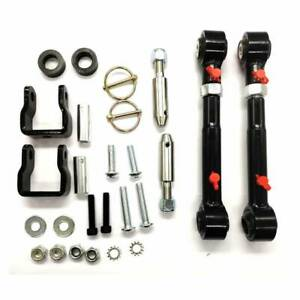 Front Sway Bar Link Disconnects For 2 5 6 Lifts For 1997 2006 Jeep Wrangler Tj