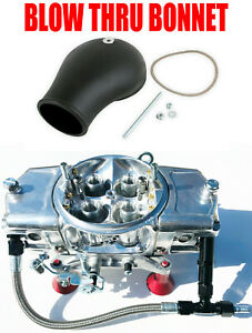 Screamin Demon Sda 750 an Bt 750 Cfm Annular Blow Thru Carb 6 Line Kit W Bonnet