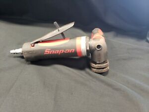 Snap On Pneumatic 4 1 2 Angle Die Grinder Pt450 No Accessories