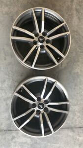 2015 Mustang Rims set Of 4 Great Pretty Much Perfect Condition 18x8 Size