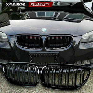 Gloss Black Front Kidney Grill Grille For Bmw E92 E93 M3 328i 335i Coupe 2007 10