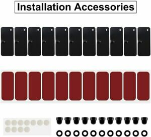 Rear Window Louvers Installation Hardware Accessories For Mustang Challenger