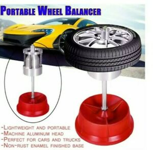 Wheel Balancer Portable Tyre Wheels Durable Car Truck Rim Cars Bubble Level 1108