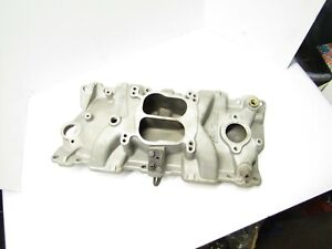 Edelbrock Performer 2101 Small Block Chevy Aluminum Intake Manifold 327 350 2