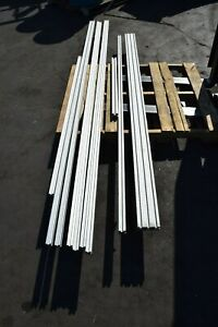 Aluminum Rail T slot Extrusion Stock Mixed Lot T slotted Pipe Frame Structure