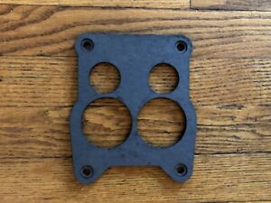 1975 1976 Buick V8 455 Quadrajet Holley 4360 Spreadbore Carburetor Mount Gasket