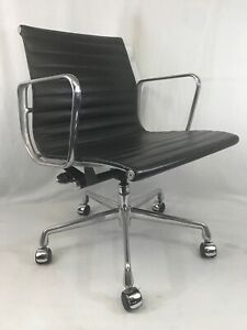 Herman Miller Eames Group Executive Chair Black Fabric b