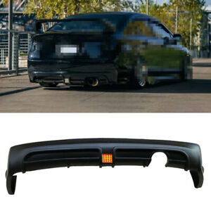 Unfinished Fit For Honda Civic 8th 2006 2011 Rear Bumper Lip Diffuser Bodykit