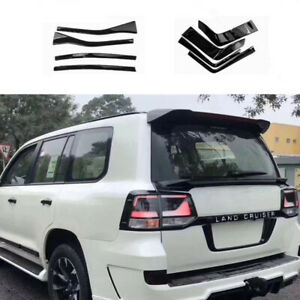 8pcs Taillight Tail Light Cover Trim For Toyota Land Cruiser Lc200 2016 17 19 Dn