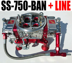 Quick Fuel Ss 750 ban Mech Blow Thru Annular With 6 Fuel Line Kit New