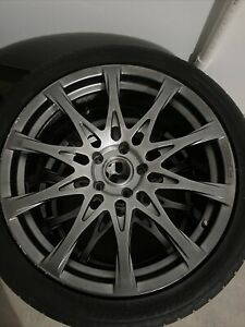 Lexus 19 Staggered Full Face F Sport Forged Alloy Wheels W Install Kit Oem
