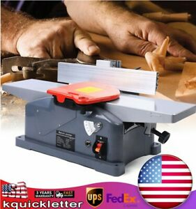 110v Jointer Electric 6 Home Job Benchtop Jointer Planer Desktop Woodworking
